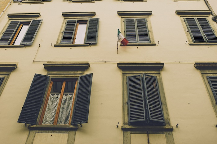firenze italy flag