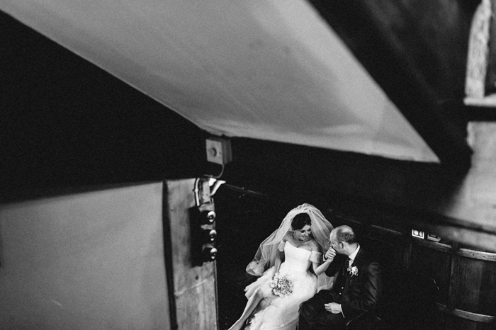 bride groom white hart hotel