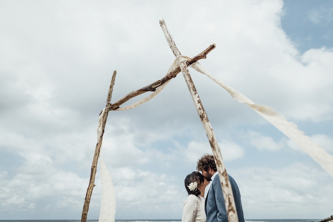 elopement beach australia