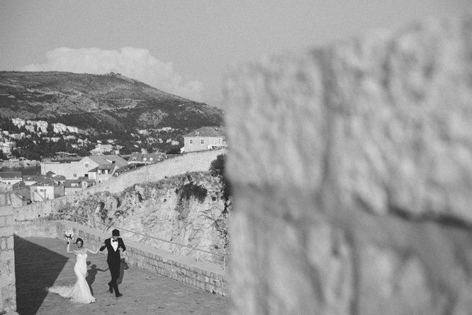 bride groom fort lovrijenac