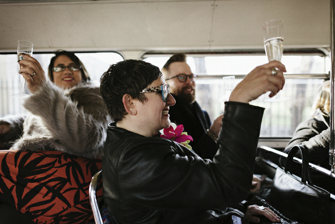 champaign-london-bus-wedding-party