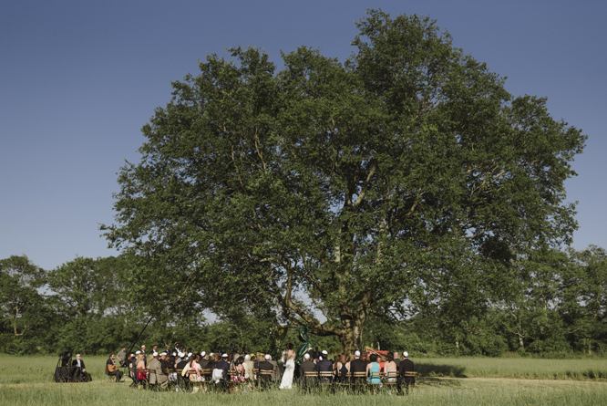 ceremony-outside-tree-intimate-wedding