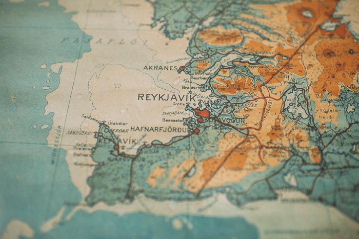 map reykjavik iceland
