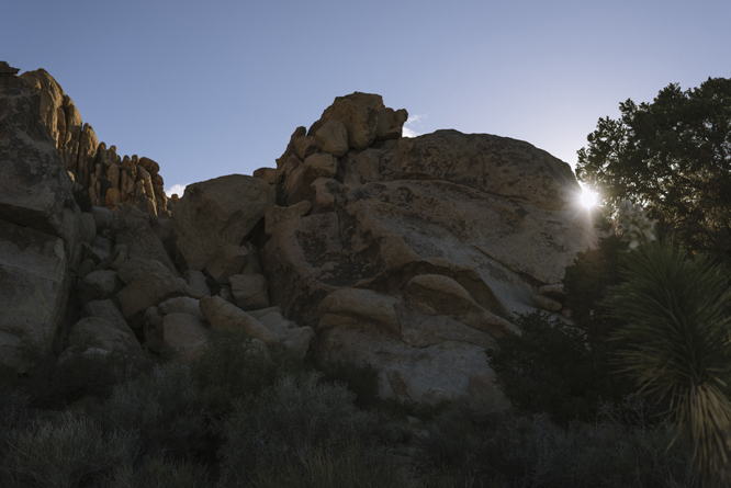 sunset-rocks-joshua-tree-desert